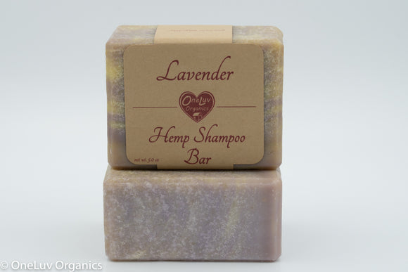 Lavender Hemp Shampoo Bar