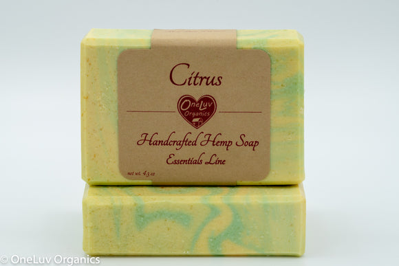 Citrus Goat Milk Soap - Essentials Line: Hemp