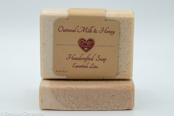 Oatmeal Milk and Honey Goat Milk Soap - Essentials Line