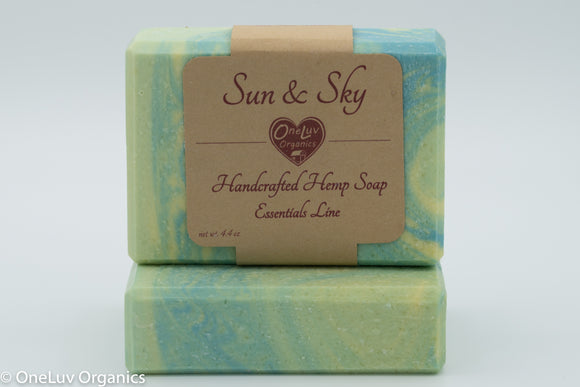 Sun & Sky Goat Milk Soap - Essentials Line: Hemp