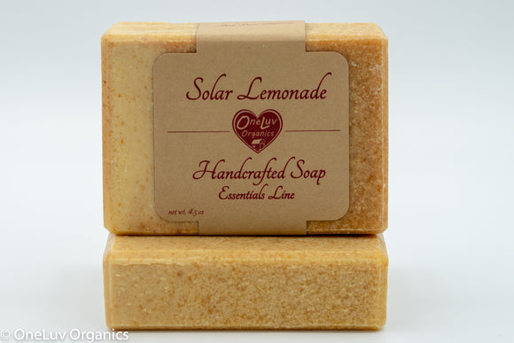 Solar Lemonade Goat Milk Soap - Essentials Line