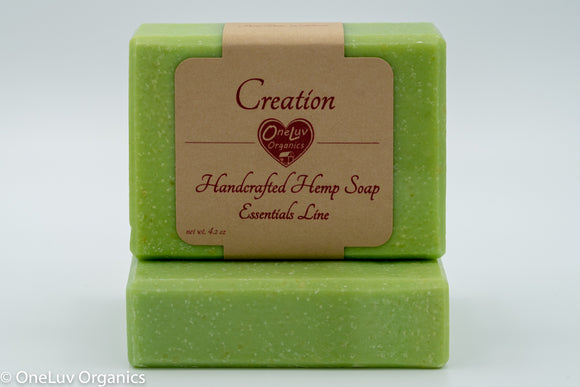 Creation Goat Milk Soap - Essentials Line: Hemp