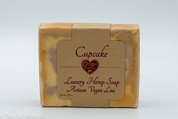 Cupcake Luxury Soap- Artisan Vegan Line