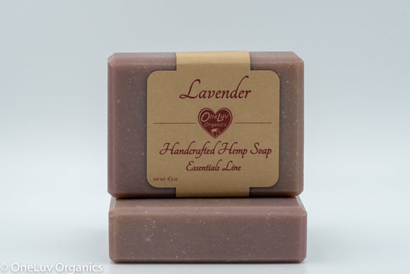 Lavender Goat Milk Soap - Essentials Line: Hemp