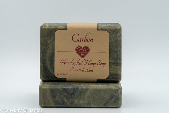 Carbon Goat Milk Soap - Essentials Line: Hemp