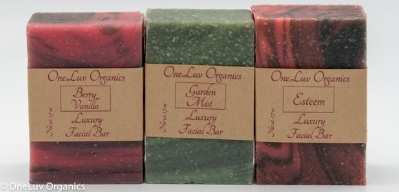 Facial Soap Variety Pack