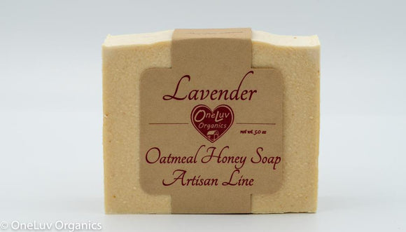 Lavender Oatmeal Honey Soap - Artisan Line