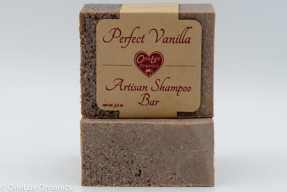 Perfect Vanilla Artisan Shampoo Bar