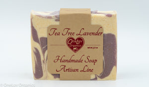 Tea Tree Lavender Palm-Free Soap - Artisan Line