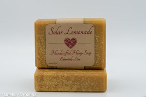 Solar Lemonade Goat Milk Soap - Essentials Line: Hemp