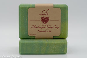 Life Handcrafted Hemp Soap: Essentials Line