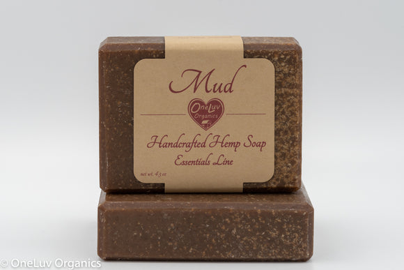 Mud Handcrafted Hemp Soap: Essentials Line