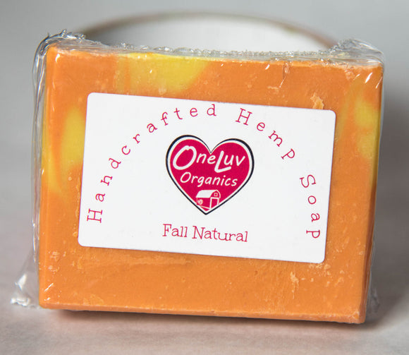 Unscented Fall Natural Goat Milk Soap- Artisan Line