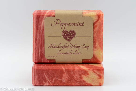 Peppermint Soap - Essentials Line: Hemp