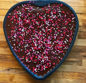 Valentine Heart Brownie Tray
