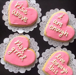 Frosted Heart Sugar Cookie