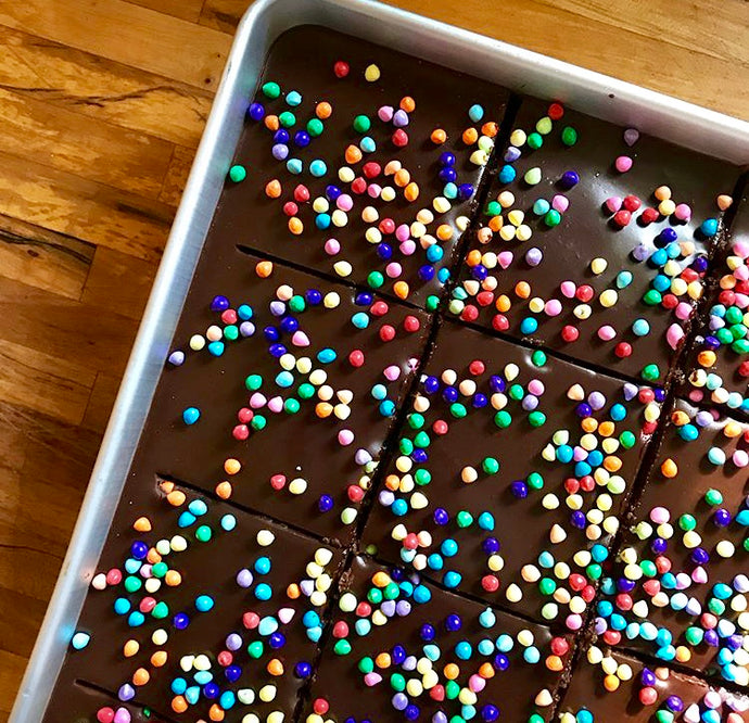 Holiday Cosmic Brownie