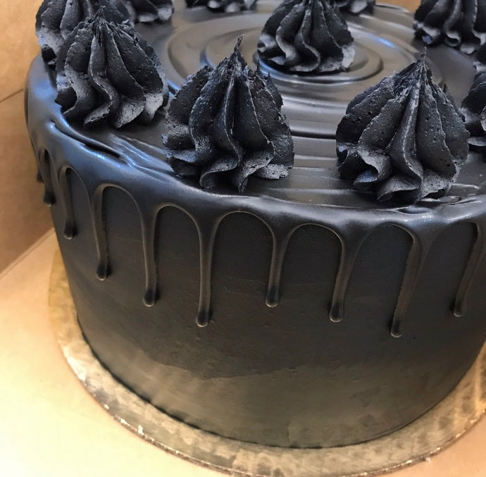 All Black Everything Cake