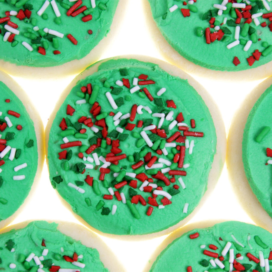 Frosted Holiday Sugar Cookie