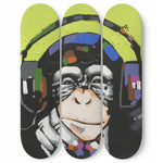 Music Monkey 3 Skateboard Wall Art