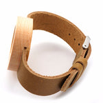 Luxury Wooden Bamboo Watch With Real Leather