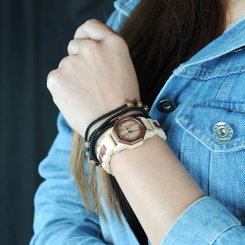 Luxury Lightweight Bamboo Wristwatch
