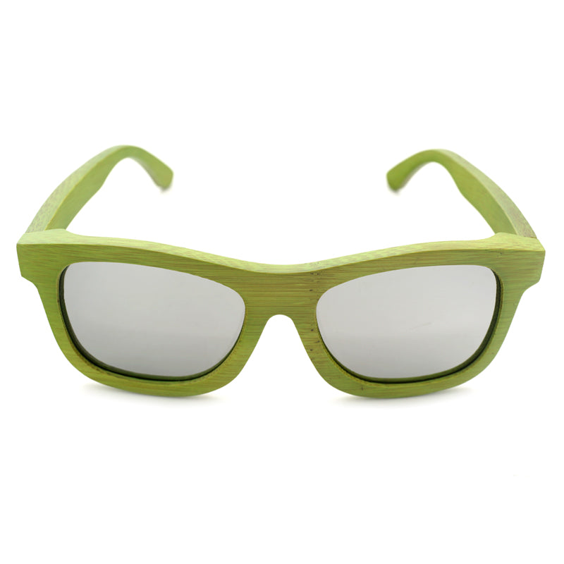Epic! Green bamboo Sunglasses