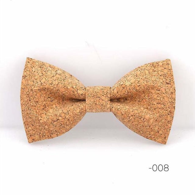 Unique Handmade Cork Bow Tie