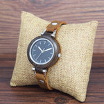 A stunning combination of leather and bamboo have been married to make this vintage bamboo watch