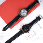 Luxury Business Watch with Date & Stopwatch
