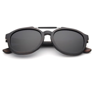 Walnut Wooden Frames with Polarized Lens