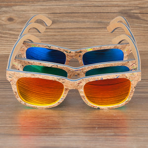 Skateboard Glasses with a Twist