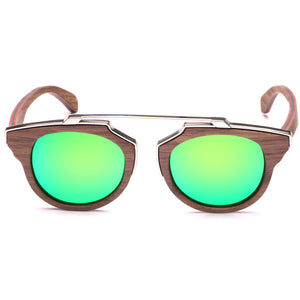 Steampunked - Skateboard Wood Sunglasses