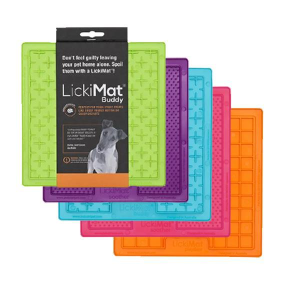 LICKIMAT Tapis de léchage (Playdate, Buddy, Soother)