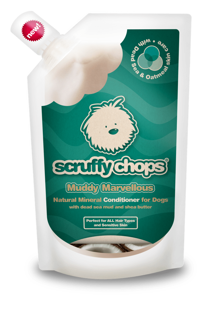 Soin du pelage Scruffy Chops - Muddy Marvellous - Pawzitive