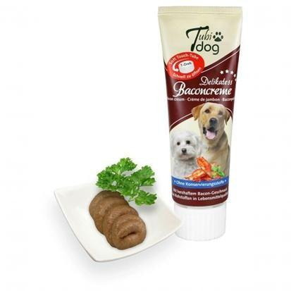 TUBIDOG - Tube de pâte à lécher 75g BACON - Pawzitive
