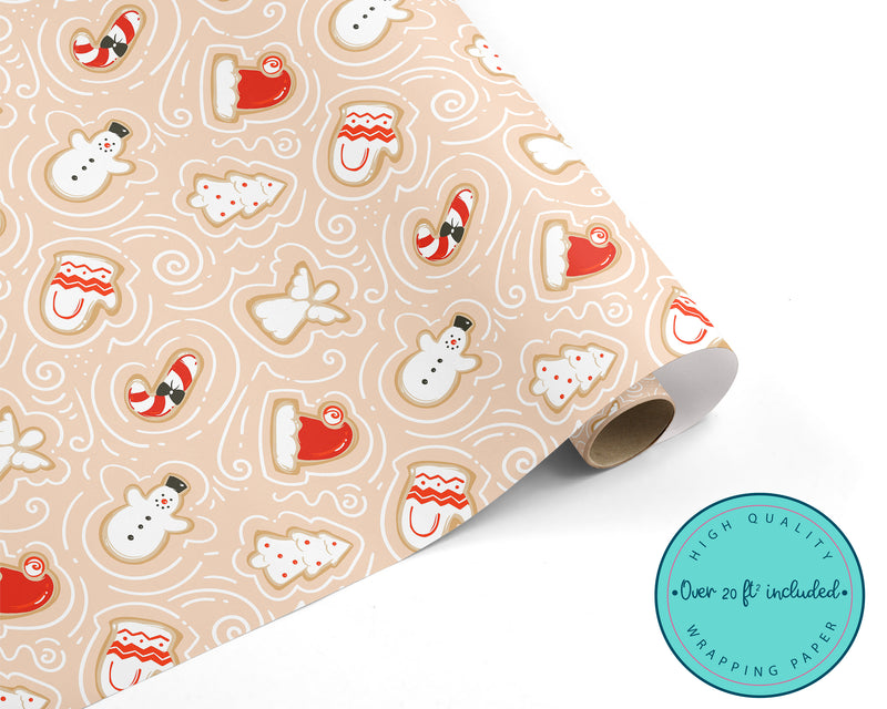 Christmas Cookies WRAPPING PAPER