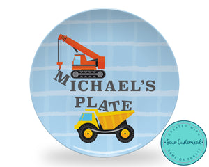 Construction Machines Plate