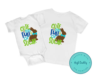 Cute Chocolate Easter Bunny Shirt