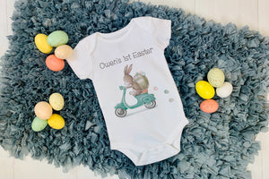 Baby's First Easter - Easter Bunny Delivery One Piece Bodysuit
