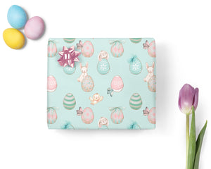 Easter Egg & Bunny WRAPPING PAPER
