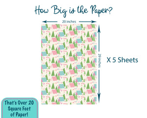 Personalized Glamping Wrapping Paper