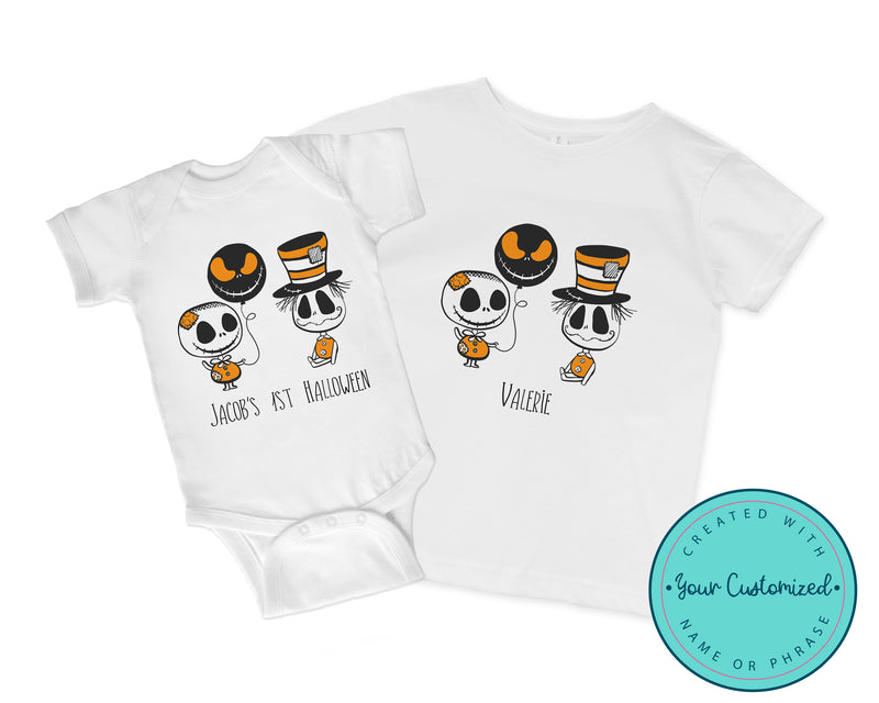 Nightmare Before Christmas & Jack Skellington-Inspired Halloween Shirt