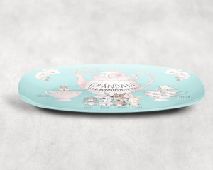 Personalized Some Bunny Loves You Platter