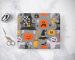 Spooky Halloween Night Wrapping Paper