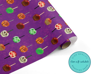 Spooky Halloween Treats Wrapping Paper
