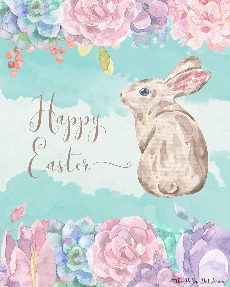 Watercolour Easter
