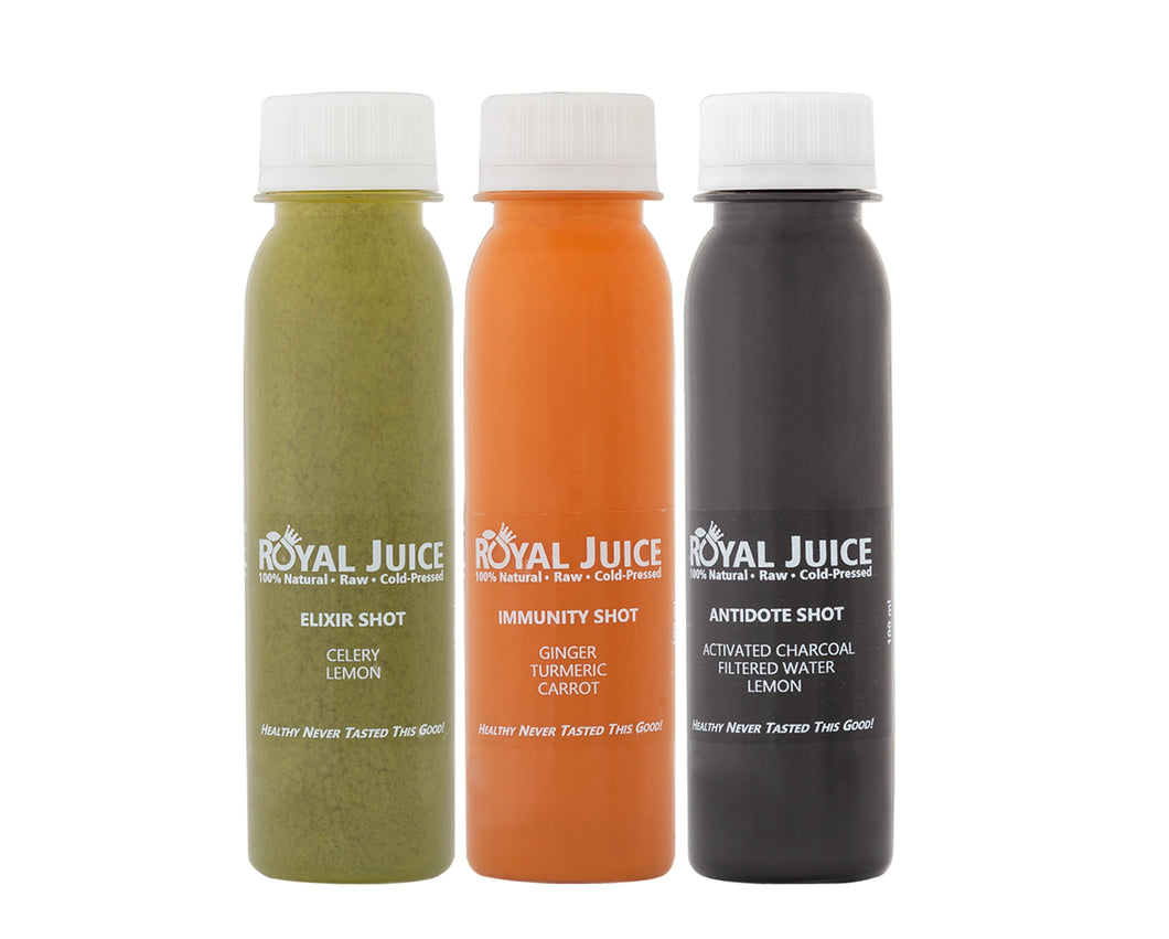 Cold Pressed Shots Cape Town