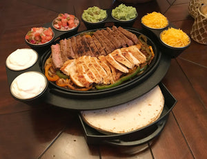 The Fajita Butler Deluxe Serving Set