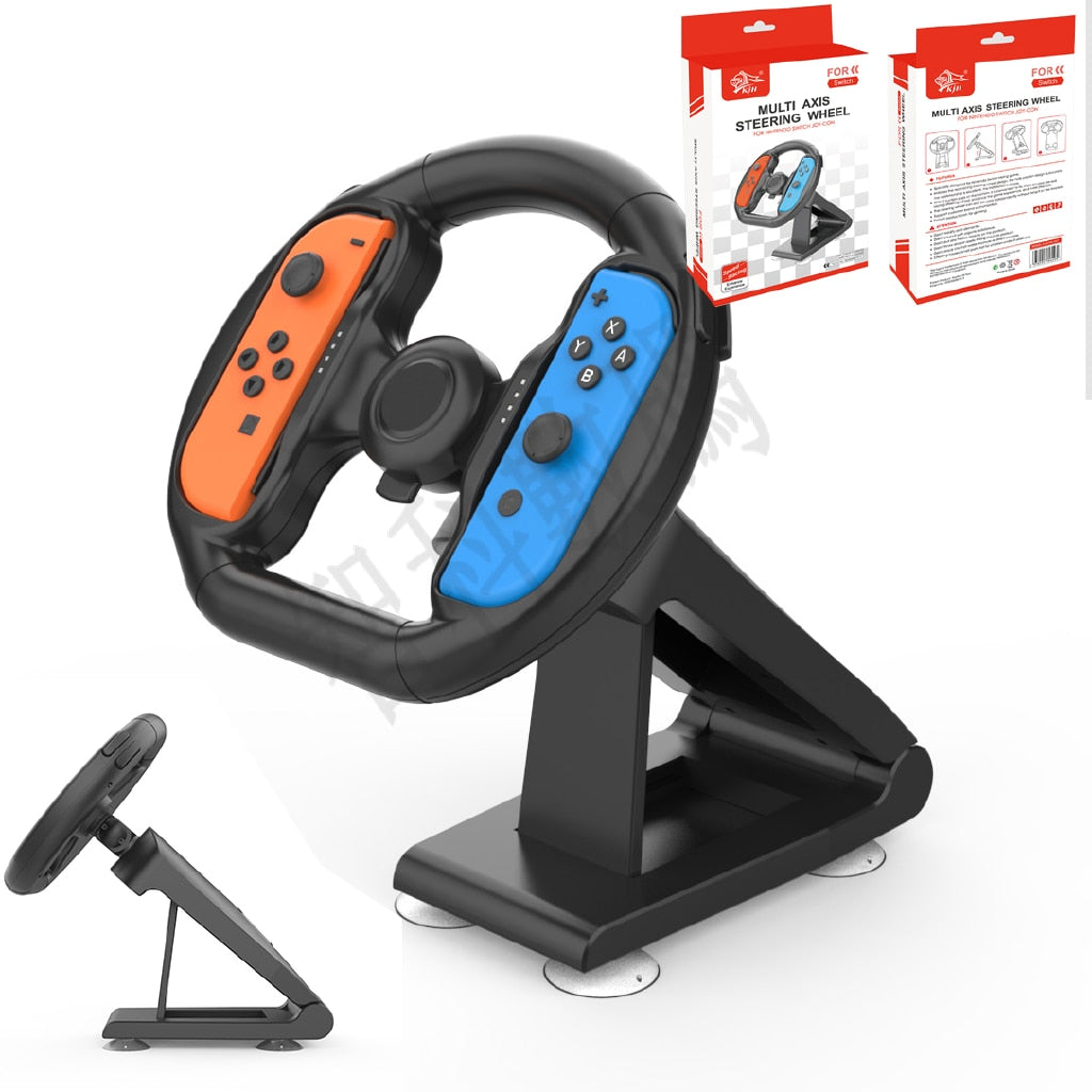 Nouveau volant Real touch Wheel Parts Components Controller Attachment Sucker for Nintendo Switch Racing Game NS Accessories